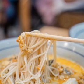 Yellow croaker noodles