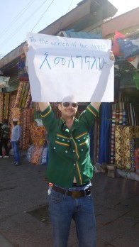"""Un fan: """"Para las mujeres del mundo: Gracias"""". Foto: eaTropía"""