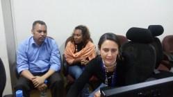 Participando en el taller sobre Taller sobre Lingu@net Worldwide que nos impartieron desde NY
