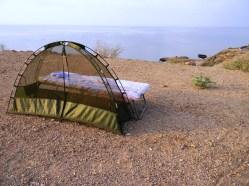 Mi cama, Tadjoura, Djibouti. Foto: entreColyCol