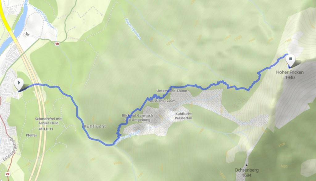 Hoher Fricken Trail