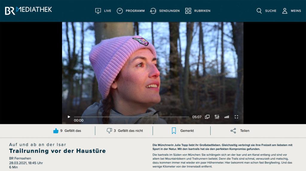 Bayrischer Rundfunk Isar trails
