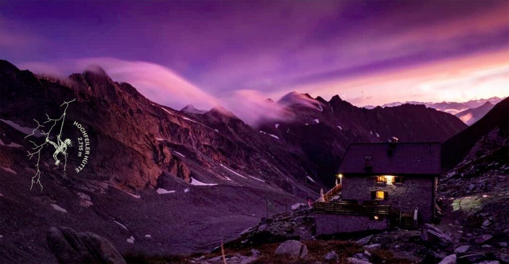 Hochfeiler Hütte, Vegane Verpflegung in den Bergen