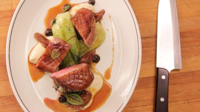 Pekin duck breast from The Boarding House. Photo credit: IMR.