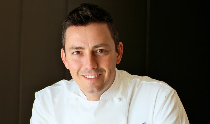 Chef Curtis Duffy of Grace in Chicago