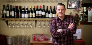 Gabriel Rucker of Le Pigeon and Little Bird Bistro in Portland, Ore. Photo credit: David Reamer.
