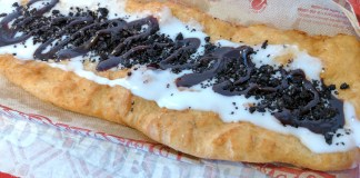 Oreo BeaverTail from Queues de Castor at Mont-Tremblant