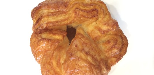 Kouign amann from b. Patisserie. Photo credit: Candice Ng.
