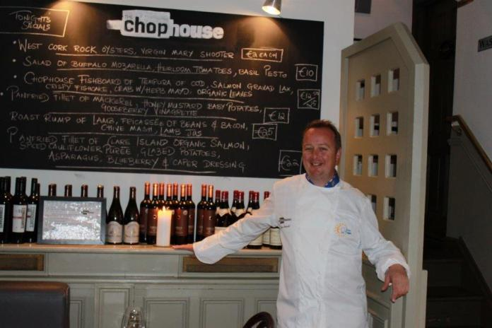 Kevin Arundel of The Chop House in Dublin, Ireland