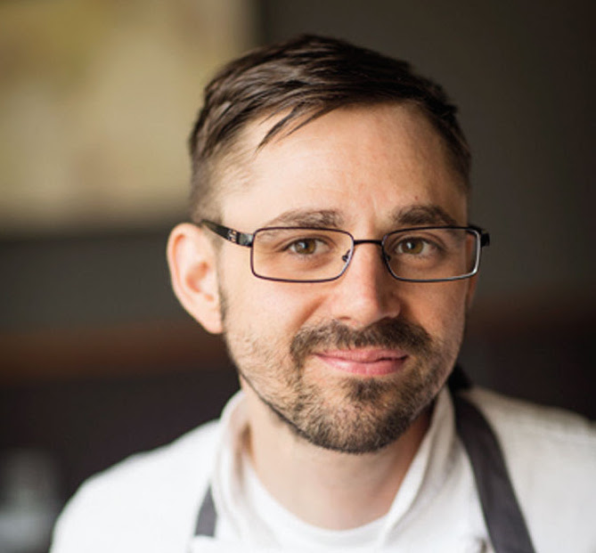 Justin Woodward of Castagna in Portland, Ore.