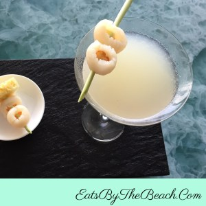 Sweet, fruity, cool lychee martini is the exotic libation that you didn't know you needed in your life.