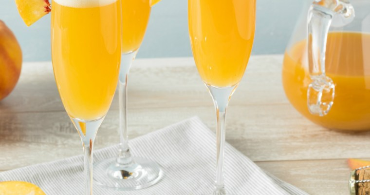 FRESH PEACH BELLINI