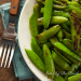 A quick and easy recipe for easy sugar snap peas