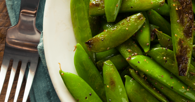 EASY SUGAR SNAP PEAS