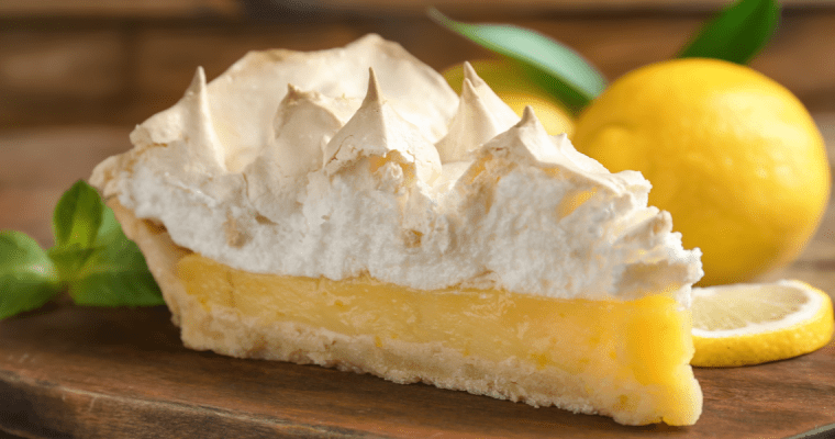 FRENCH LEMON MERINGUE PIE