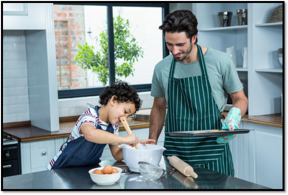 Cooking Time with the Kids—Recipes You Can Make Together