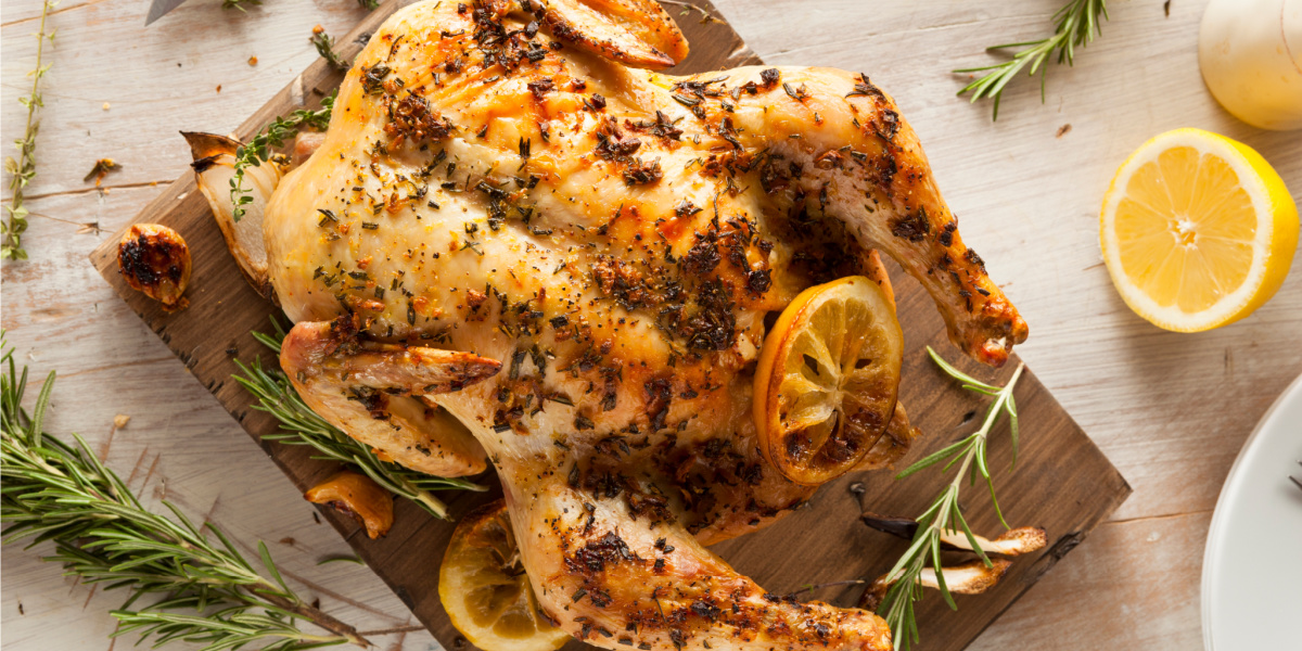 LEMON HERB-ROASTED CHICKEN