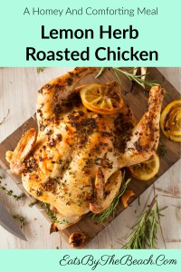 A perfect lemon herb-roasted chicken that is a homey, comforting dinner to feed your soul and belly.