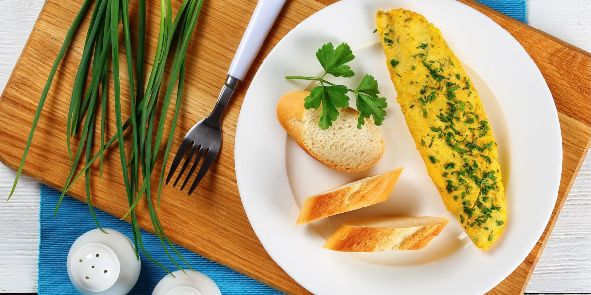Classic French Herbed Omelet