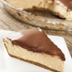 Peanut Butter Pie With Chocolate Ganache - an easy, no bake dessert