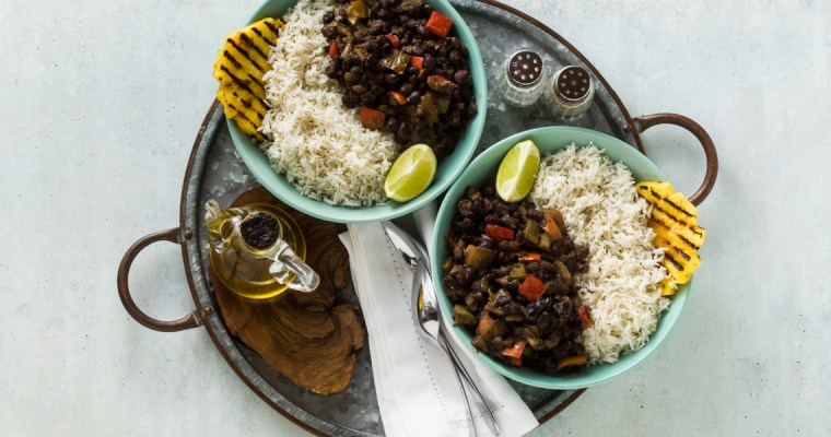CUBAN RICE AND BEANS