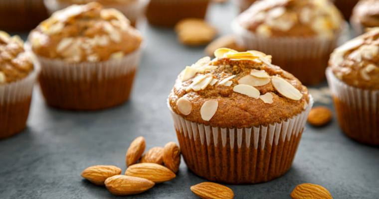 Bakery-Style Almond Muffins
