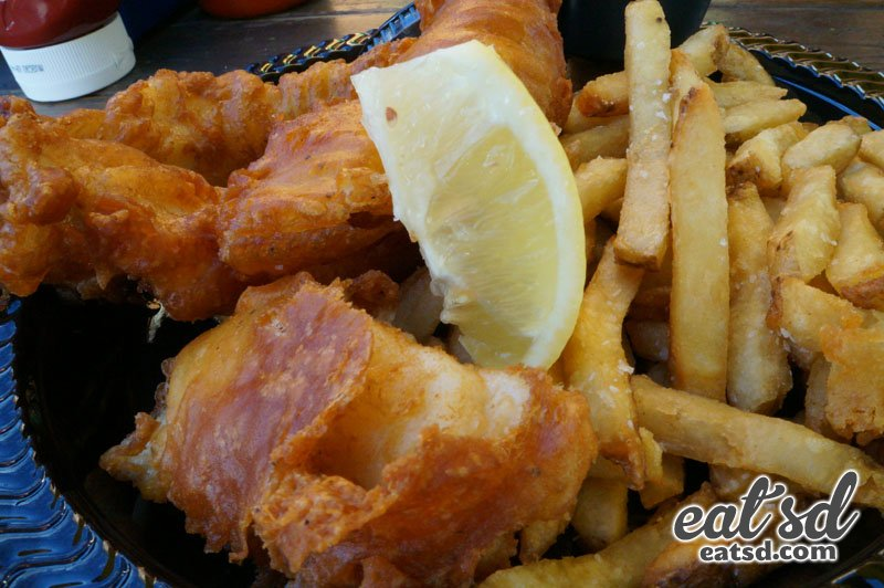 Pacific Fish And Chips Menu