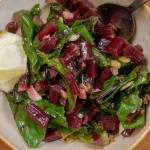 Beet Greens with Anchovy