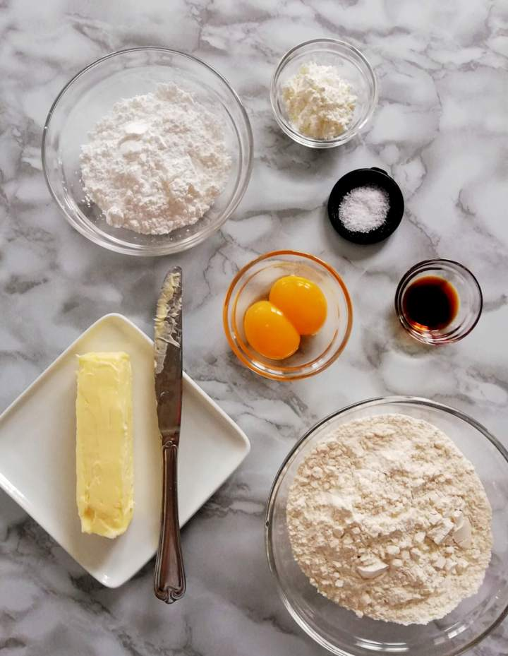 apricot jam filled sandwich cookies ingredients