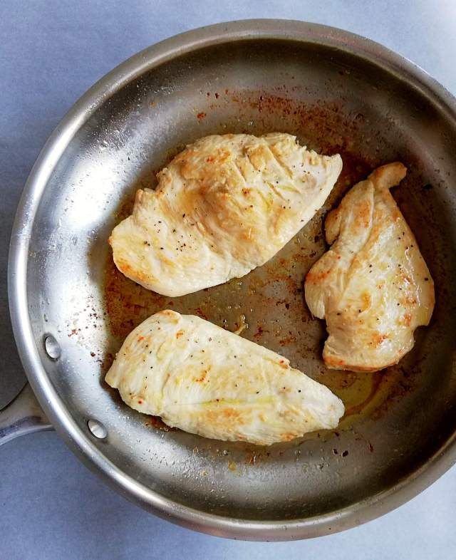 white wine chicken recipe - chicken fried