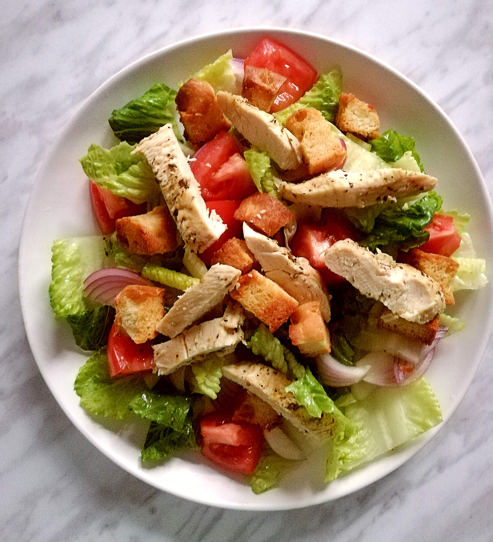Oregano Chicken Salad