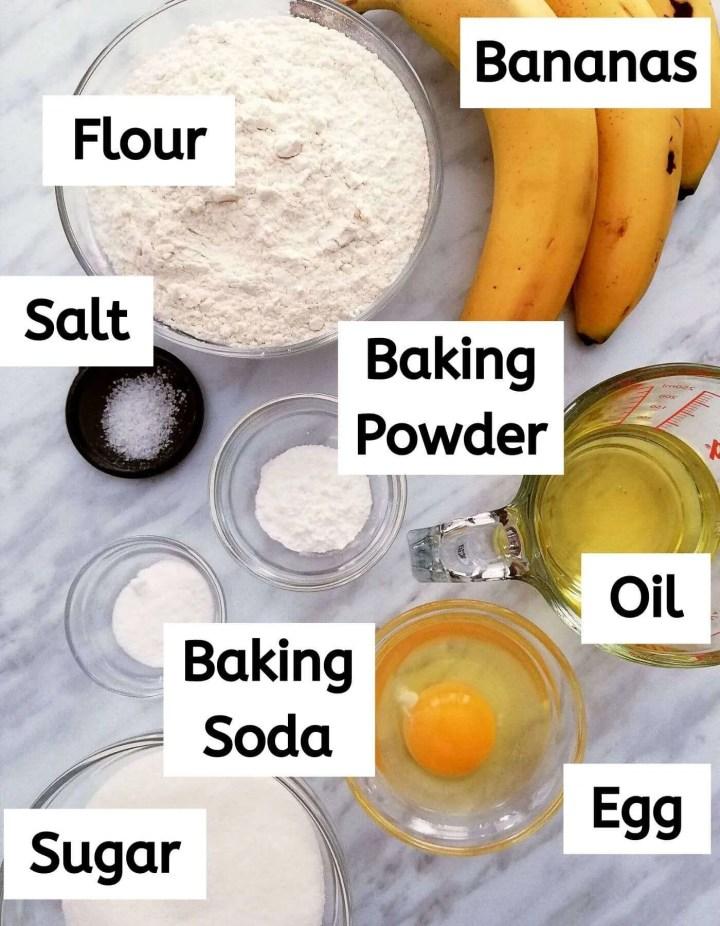 banana muffins ingredients (1)