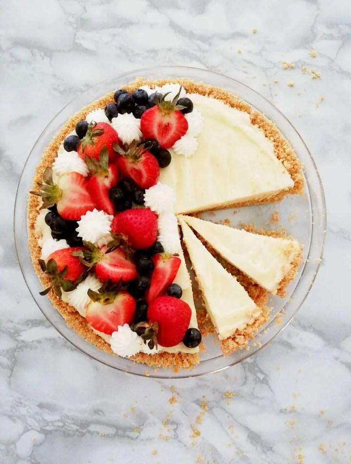 no bake fruit tart sliced fruit tart (1)