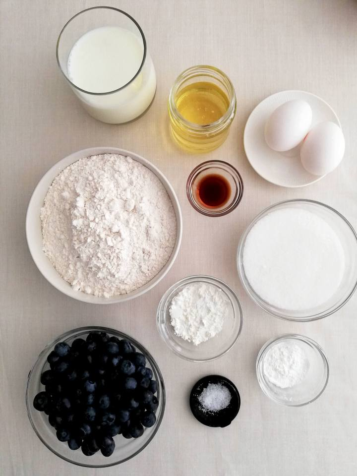 blueberry muffins with streusel topping ingredients