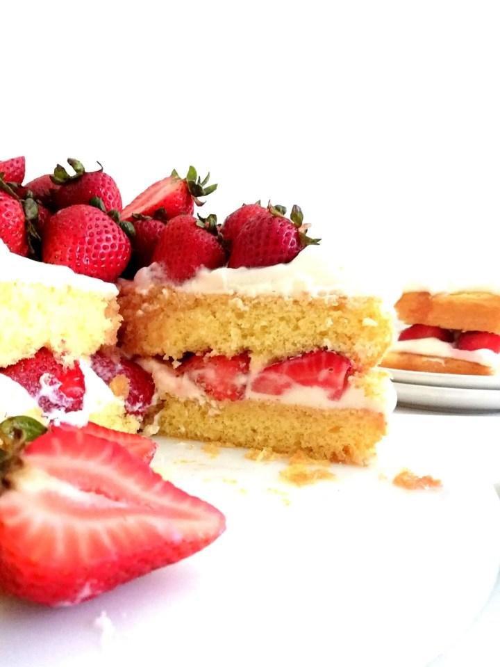 strawberry shortcake cake sliced inside view (1)