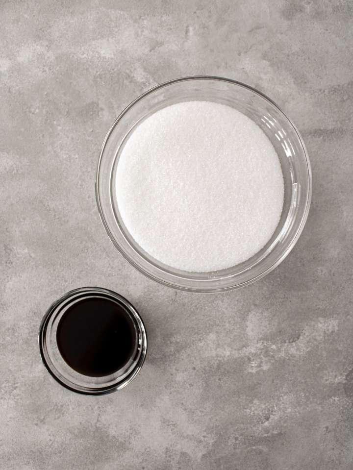 brown sugar ingredients in bowls