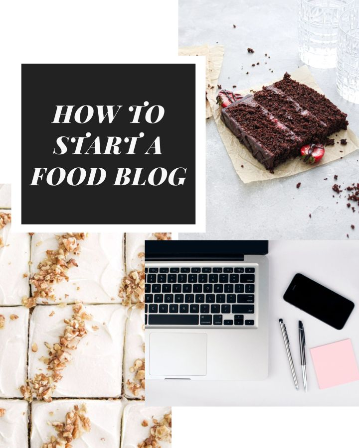 how to start a food blog