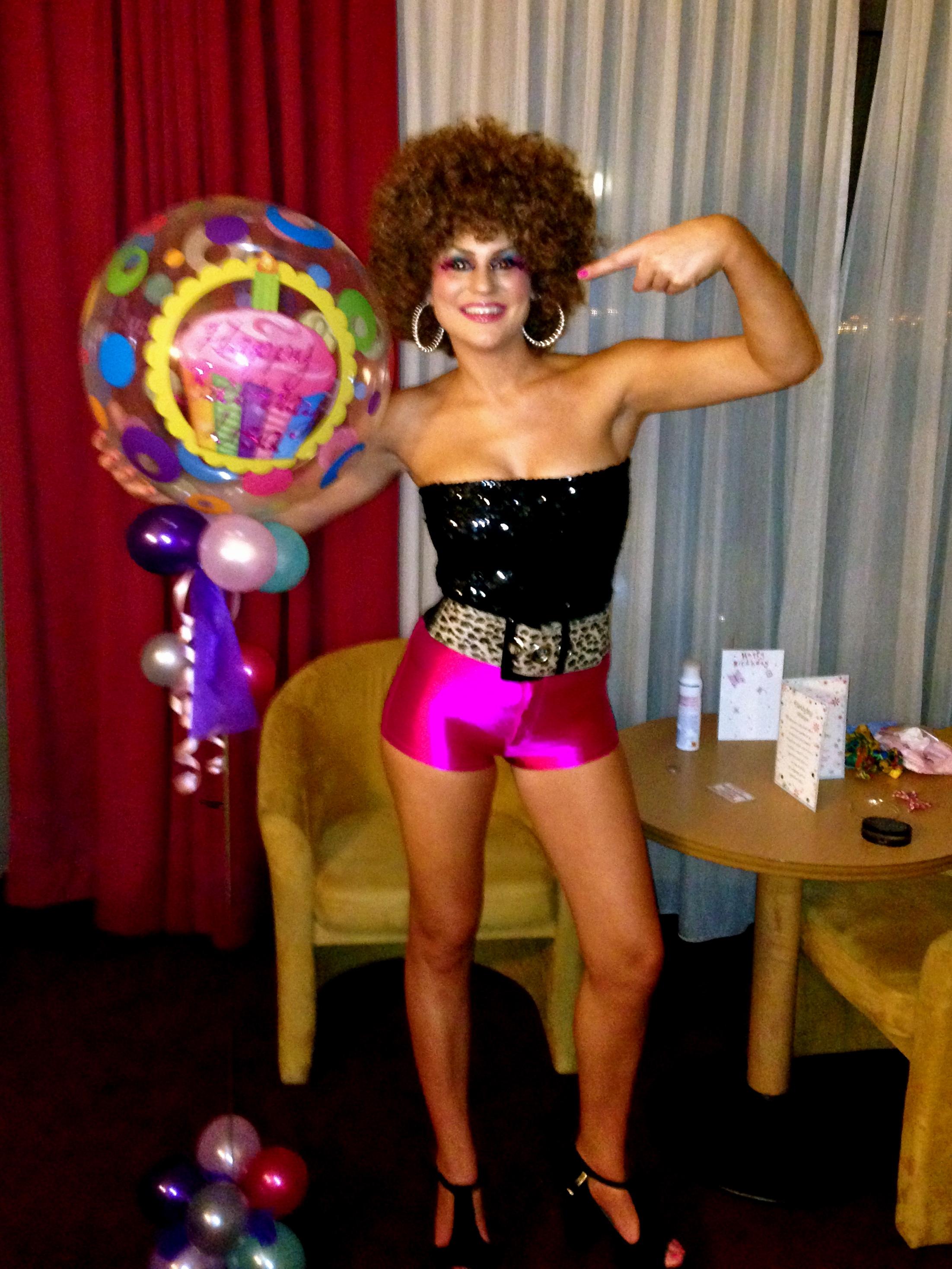 Halloween Inspiration 70s Fancy Dress Hair And Makeup