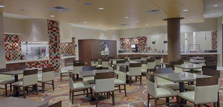 Breakfast Dining Area Embassy Suites Elizabeth NJ Review