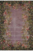 Lavender Floral Rug from Rugs USA