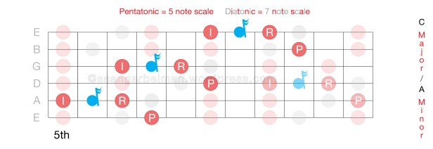 Guitar Scales learning licks