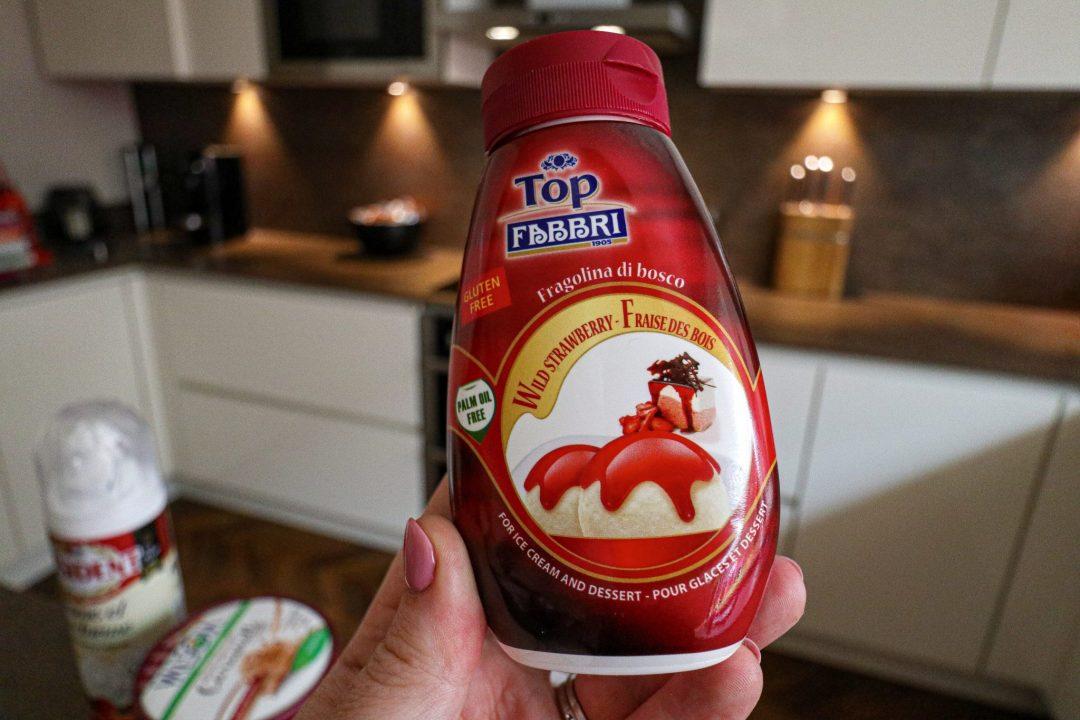 Fabbri wild strawberry syrup
