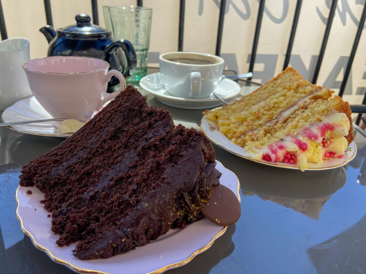 Lunch at The Black Cat Tea Rooms Hessle, East Yorkshire