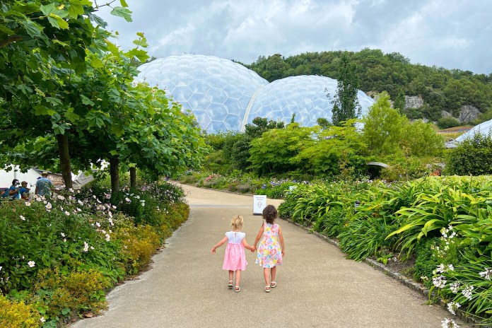 Visiting Cornwall With Kids - The Eden Project