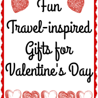 Fun Travel inspired Gifts for Valentine's Day