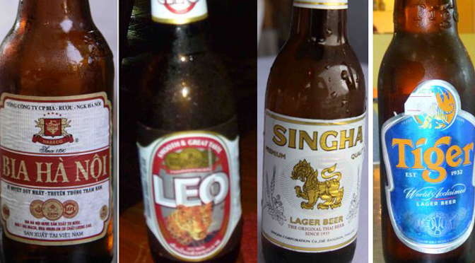 TRADITIONAL BEERS FROM THE INDOCHINA PENINSULA