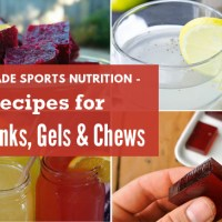 Homemade Sports Nutrition - Recipes for DIY Drinks, Gels and Chews