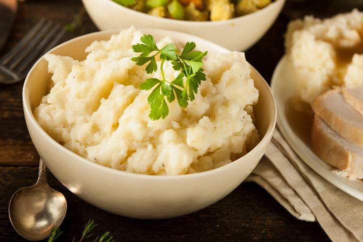 Homemade Creamy Mashed Potatoes