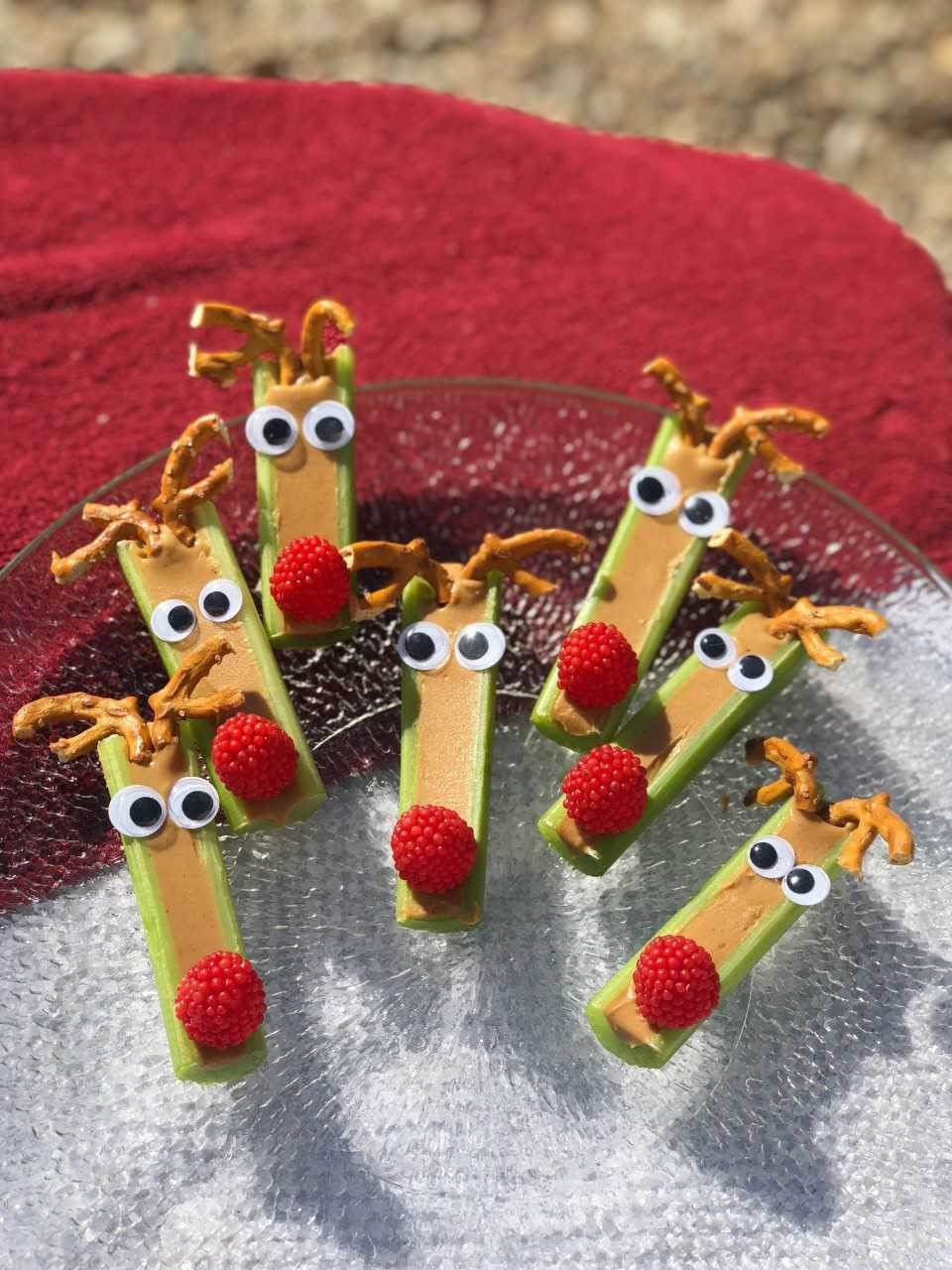 PB Celery Reindeer
