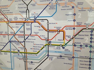 The tube map became an even better friend!